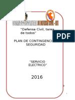 2.Plan de Contingencia Serv. Electrico