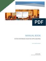 Manual Book RTA (Kegiatan AIPNI) Versi Institusi