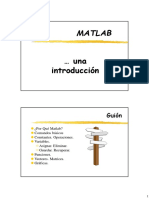 0 1 Introduccion Matlab