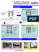 Fujita Seismic Isolation Technologies