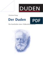 Der Duden Die Geschichte Eines Volkswoerterbuchs Von Christian Stang
