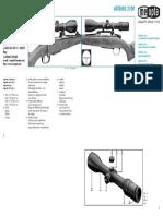 Artemis 2100 Manual Cz de en Fr