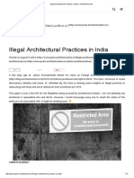 Illegal Architectural Practices in India – ArchitectureLive!