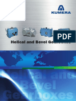 Kumera Helical and Bevel Gear Units