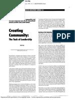 Drivers Creating Community