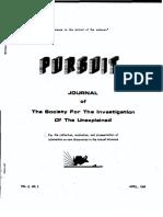 PURSUIT Newsletter No. 6, April 1969 - Ivan T. Sanderson