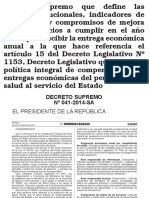 Acuerdos de Gestion 2015 Indicadores
