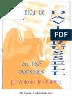 Tecnica de David Russell en 165 Consejos.de CONTRERAS, Antonio