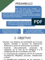 EVAP SECTOR AGRARIO PERU