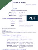Estructura de Analisis Literario