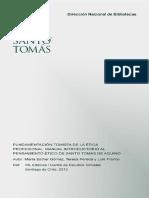 Fundamentación Tomista de La Ética Profesional
