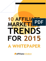 10 Affiliate Marketing Trends for 2015