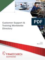 Finmeccanica Directory 2016