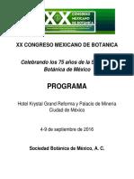 PROGRAMA_XX_Congreso_Mexicano_Botánica