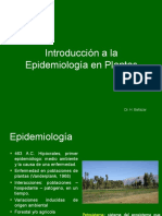 INTRODUCCION EPIDEMIOLOGIA