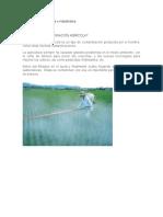 Contaminacion Agricola e Industriales