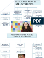 RECOMENDACIONES  PARA EL DOCENTE -AUTOESTIMA.pptx