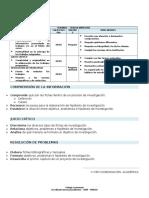 Lineamientos metodología bimestre 2015 - 1° A 5° DE SECUNDARIA