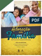 Cartaz Adoração Em Familia