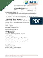 Session Plan- Retail DM