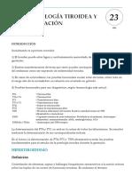 Patologia Tiroidea y Gestacion