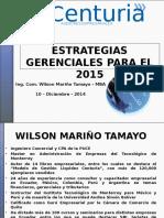 Estrategias Gerenciales 2015 Niif