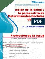 Promocion de La Salud y DSS Dr Robles Guerrero