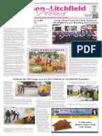 Hudson~Litchfield News 10-7-2016