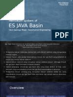 Petroleum system & Basin analysis of East (ES) JAVA BASIN
