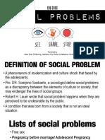 Social Problems EDU 3093