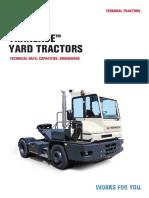 Tractor Terex Dimensiones