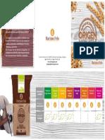 Catalogo Origen Harinas de Cereales Molidas a Piedra