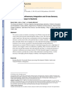 Impairments of Multisensory Integration and Cross-Sensory Learning as Pathways to Dyslexia