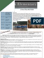 oct  7 2016 park newsletter
