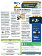 Pharmacy Daily for Fri 07 Oct 2016 - Health cost growth slows, NPS Prescriber site switch, Turnbull to address Guild dinner, Events Calendar and much more