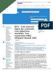B12 - Los Nuevos Tipos de Contrato Con Objetivos Sociales. L
