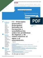 C1 - Principios Generales y Principales Métodos de Formación