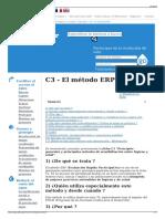 C3 - El Método ERP - Wikiwater