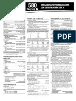Retroexcavadora 580 Caracteristicas Dimensiones Especificaciones Tecnicas Capacidades
