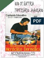 Drum Método de Bateria Heraclito Dornelles