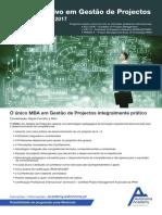 MBA Executivo em Gestão de Projectos 2017