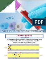 HPLC, cromatografía líquida