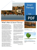 Smart Therapy Fall 2016 Newsletter