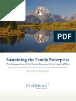 Sustaining the Family Enterprise Report