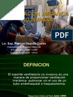 Intervenciòn de Enfermerìa en VMNI