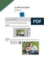 Cara Membuat Efek Foto Robek