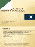 Fisiologia Dos Métodos de Treinamento Na Musculação
