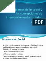 Los Paradigmas de Lo Social