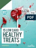 15 Low Carb Healthy Treats