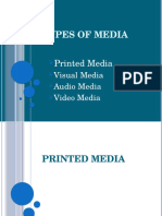 Lesson 15. Types of Media